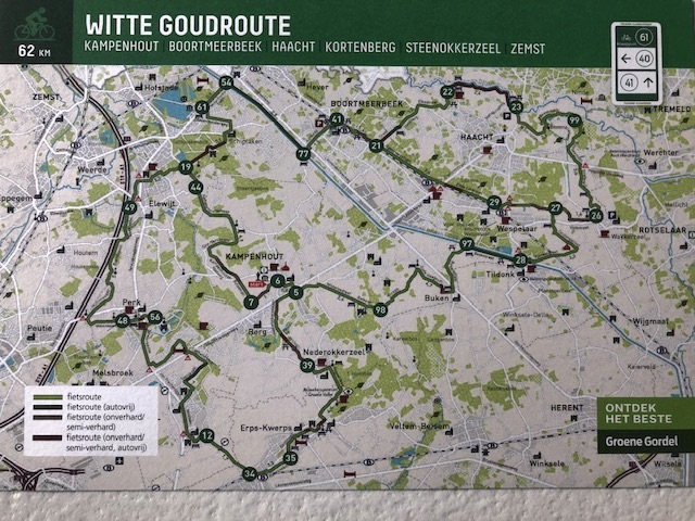 witte goudroute